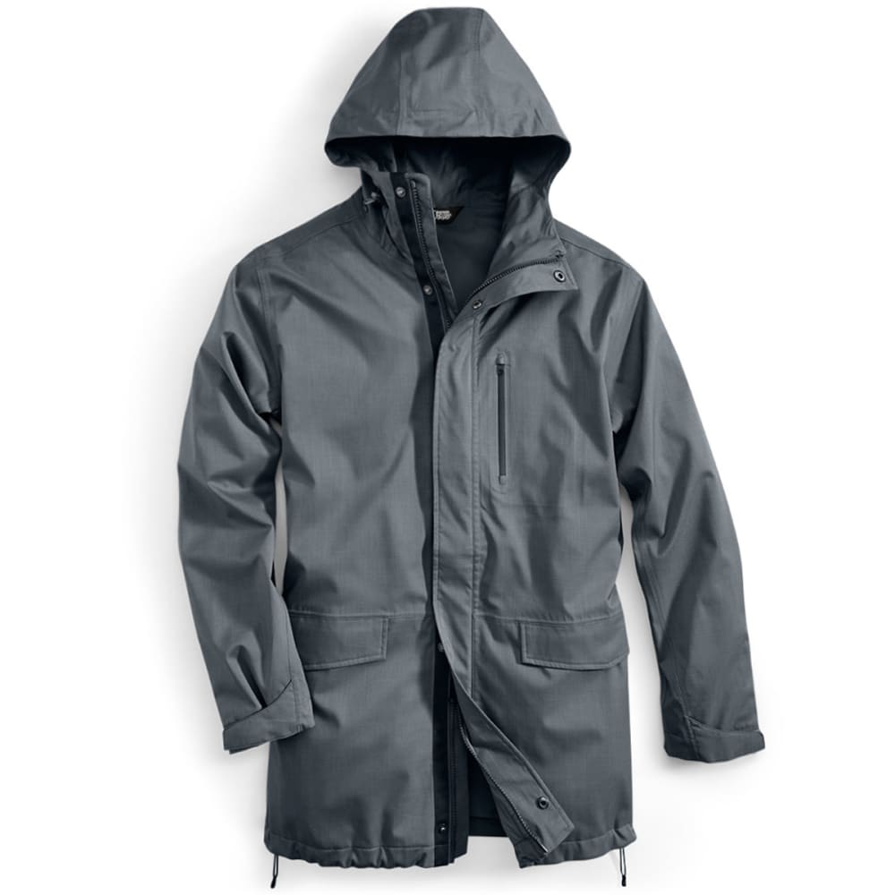 EMS® Men's Back Bay Rain Parka  - TURBULENCE