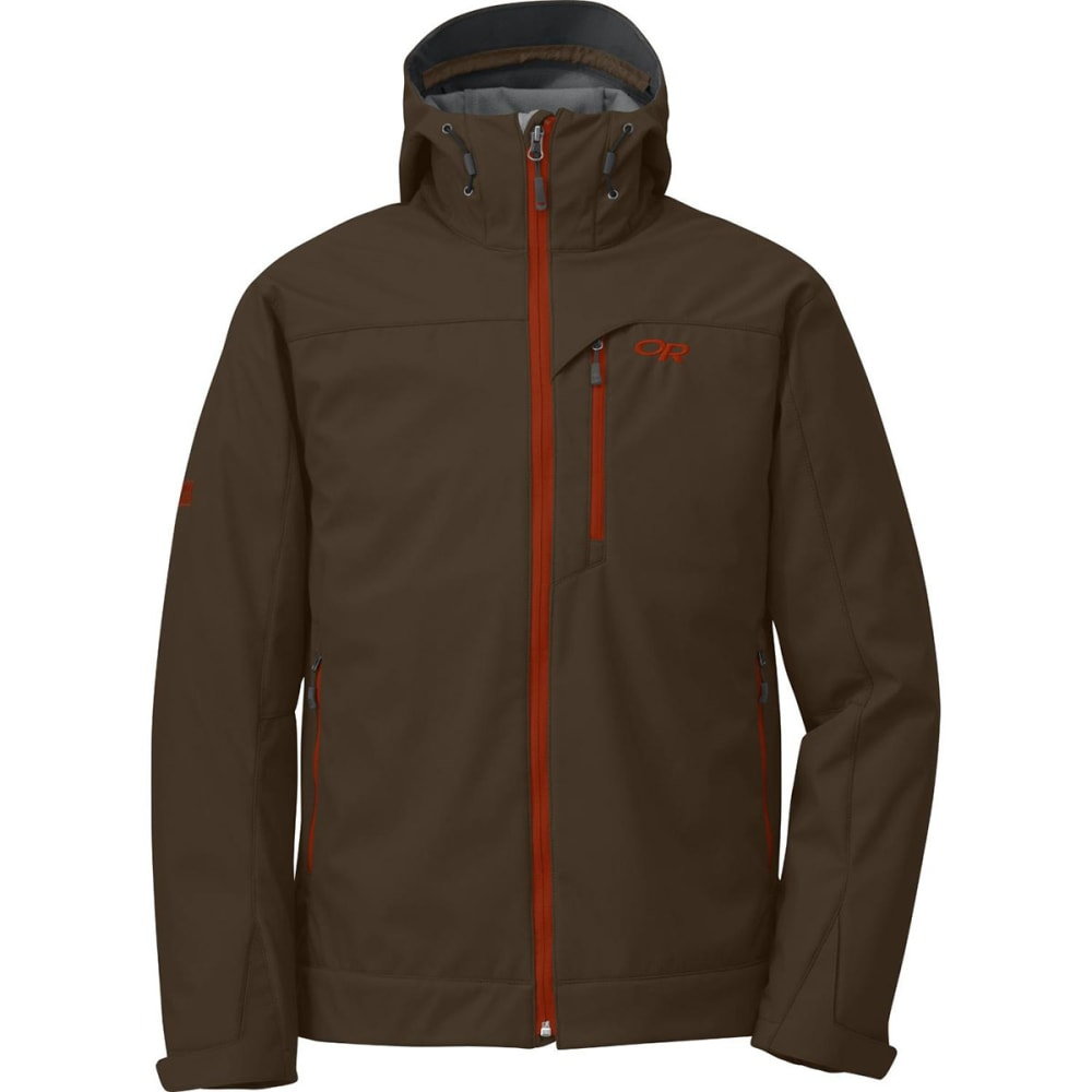 OUTDOOR RESEARCH Men's Transfer Hoodie - EARTH