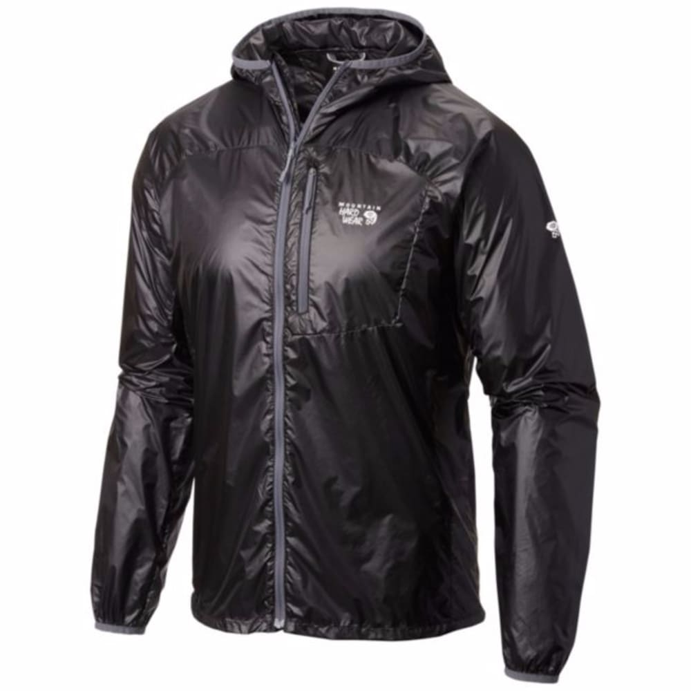 MOUNTAIN HARDWEAR Men's Ghost Lite Jacket - BLACK
