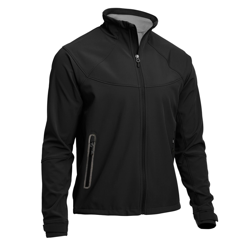 EMS® Men's Acadia Softshell Jacket  - JET BLACK