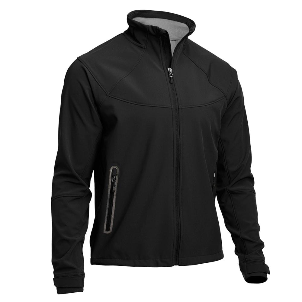 EMS Men's Acadia Softshell Jacket - JET BLACK