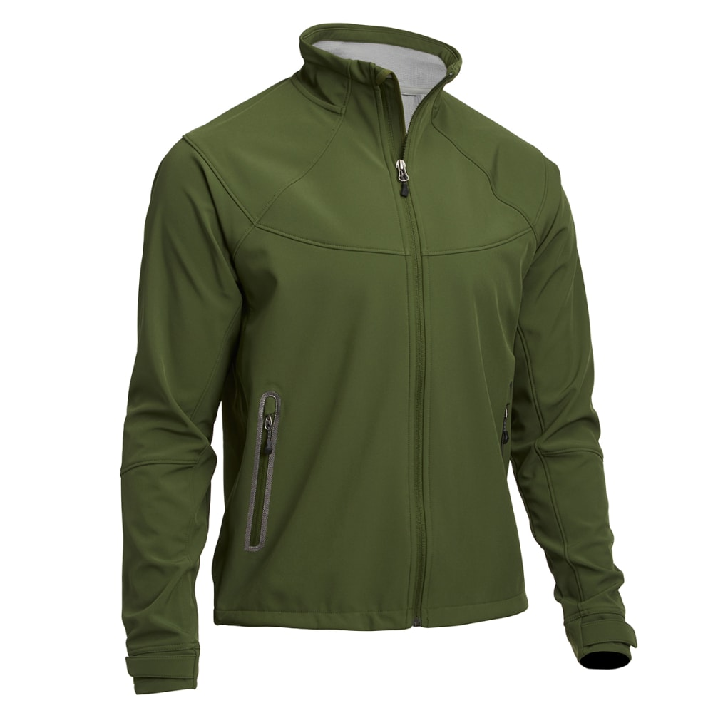 EMS® Men's Acadia Softshell Jacket  - CHIVE