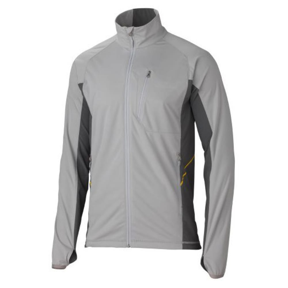 MARMOT Men's Fusion Softshell Jacket - STEEL/SLATE GREY