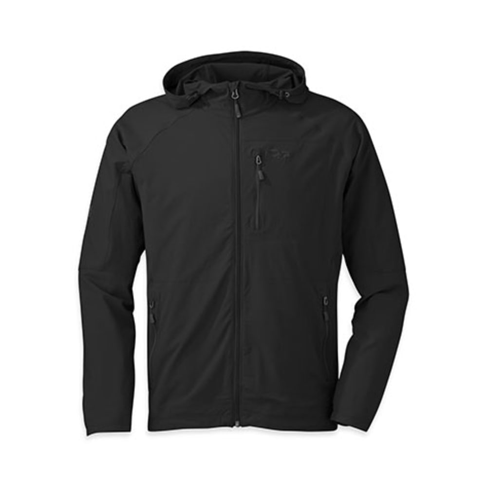 OUTDOOR RESEARCH Men's Ferrosi Hoody - 0001-BLACK