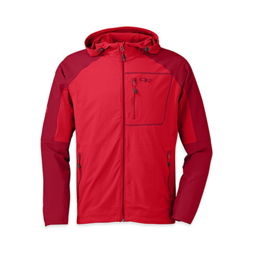 OUTDOOR RESEARCH Men's Ferrosi Hoody - HOT SAUCE