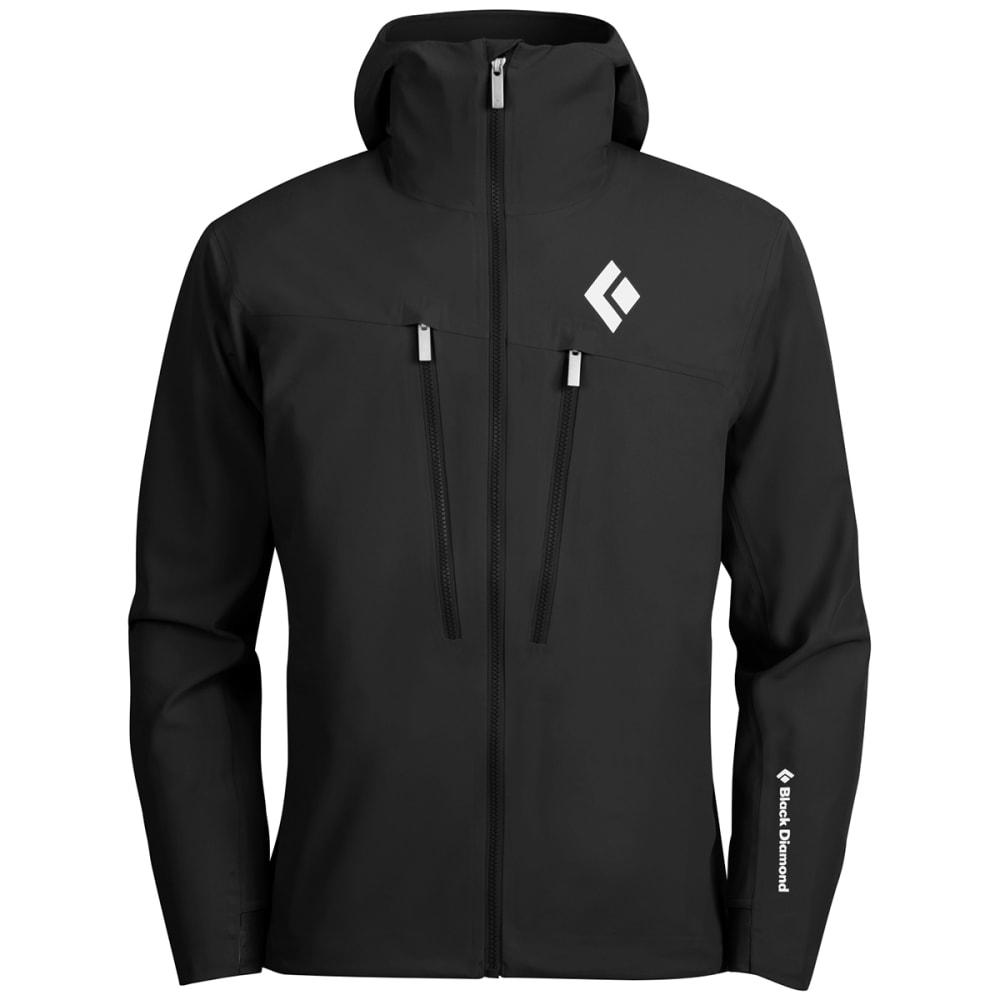 BLACK DIAMOND Men's Induction Shell Jacket - BLACK