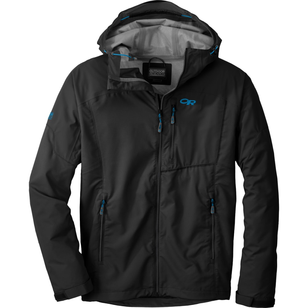 OUTDOOR RESEARCH Men's Trailbreaker Jacket - BLACK