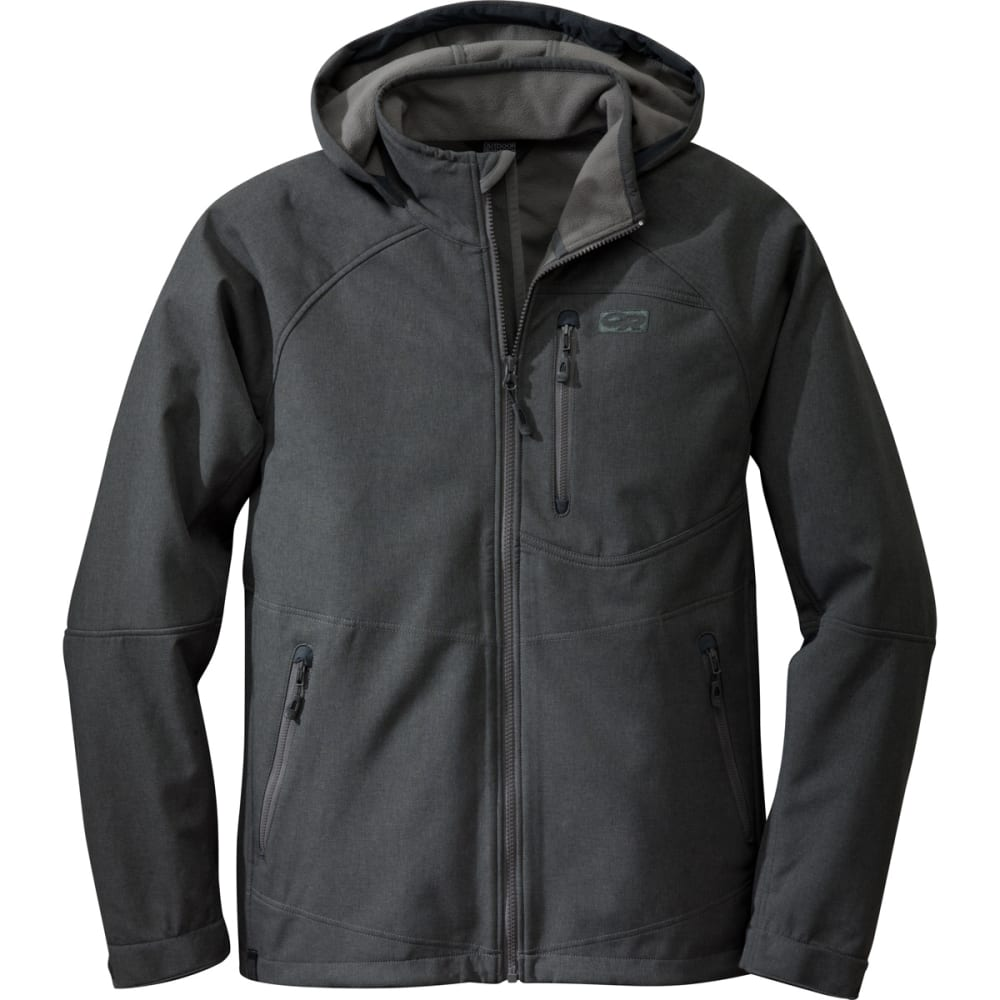 OUTDOOR RESEARCH Men's Deadbolt Hoodie - CHARCOAL