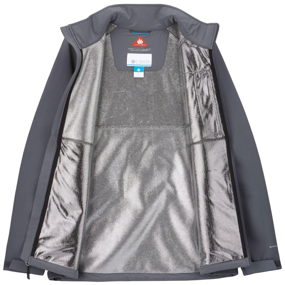 COLUMBIA Men's Heat Mode II Softshell Jacket - GRAPHITE