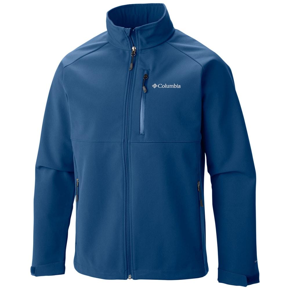 COLUMBIA Men's Heat Mode II Softshell Jacket - MARINE BLUE