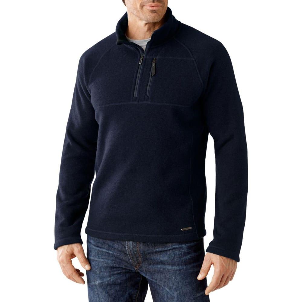 SMART WOOL Men's Echo Lake ½ Zip Sweater - DEEP NAVY