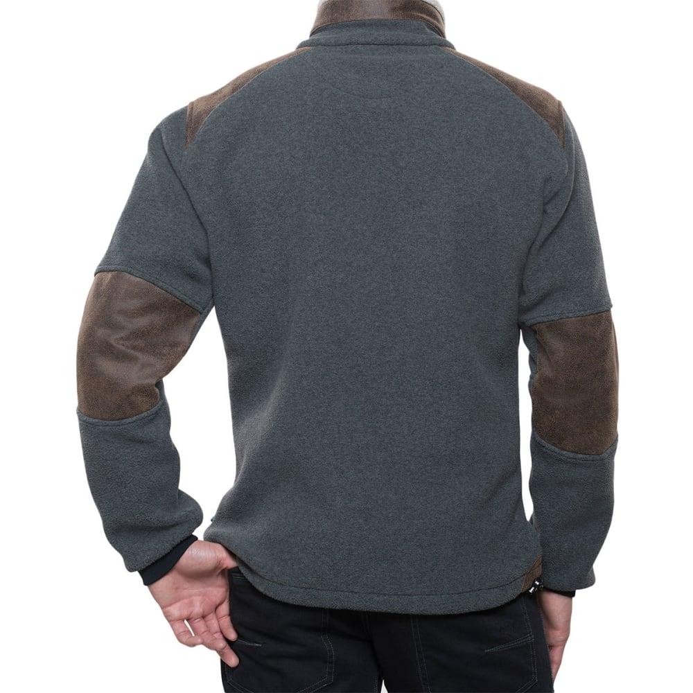 KÜHL Mens Alpenwurx Fleece Jacket - STL-STEEL