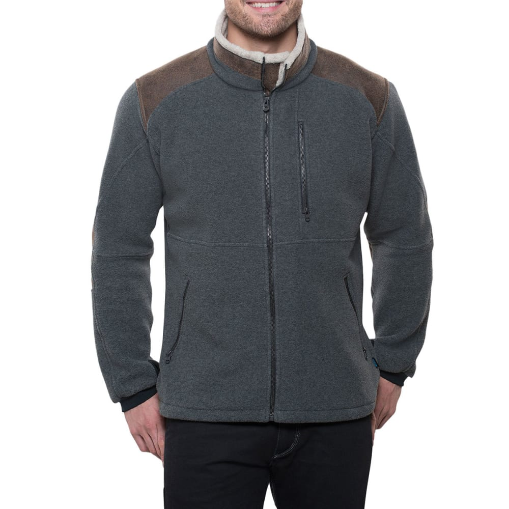 KÜHL Mens Alpenwurx Fleece Jacket   - STL-STEEL