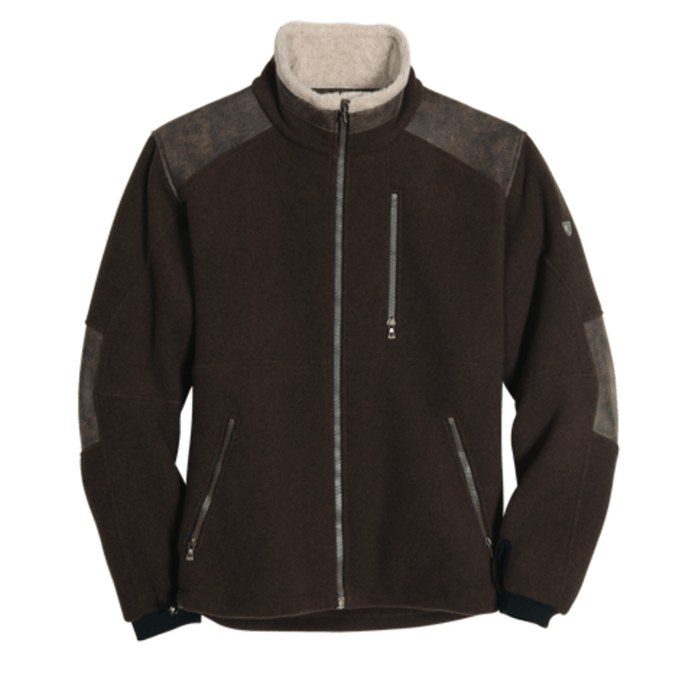 KÜHL Mens Alpenwurx Fleece Jacket  - BR-BROWN