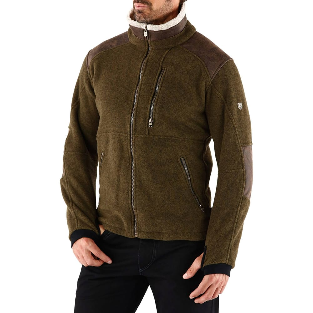 KÜHL Mens Alpenwurx Fleece Jacket   - OL-OLIVE