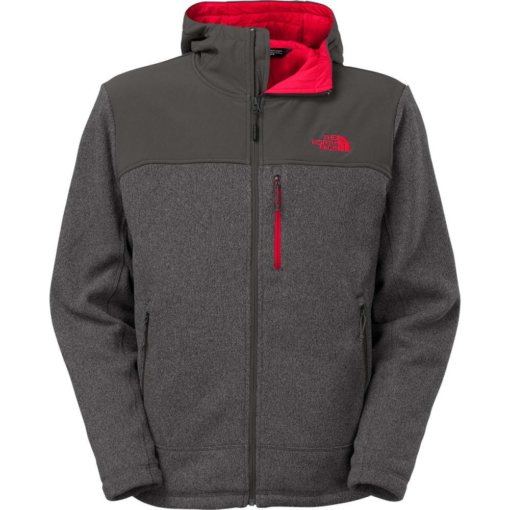 THE NORTH FACE Men's Insulated Gordon Lyons Hoodie - ASPHALT GREY