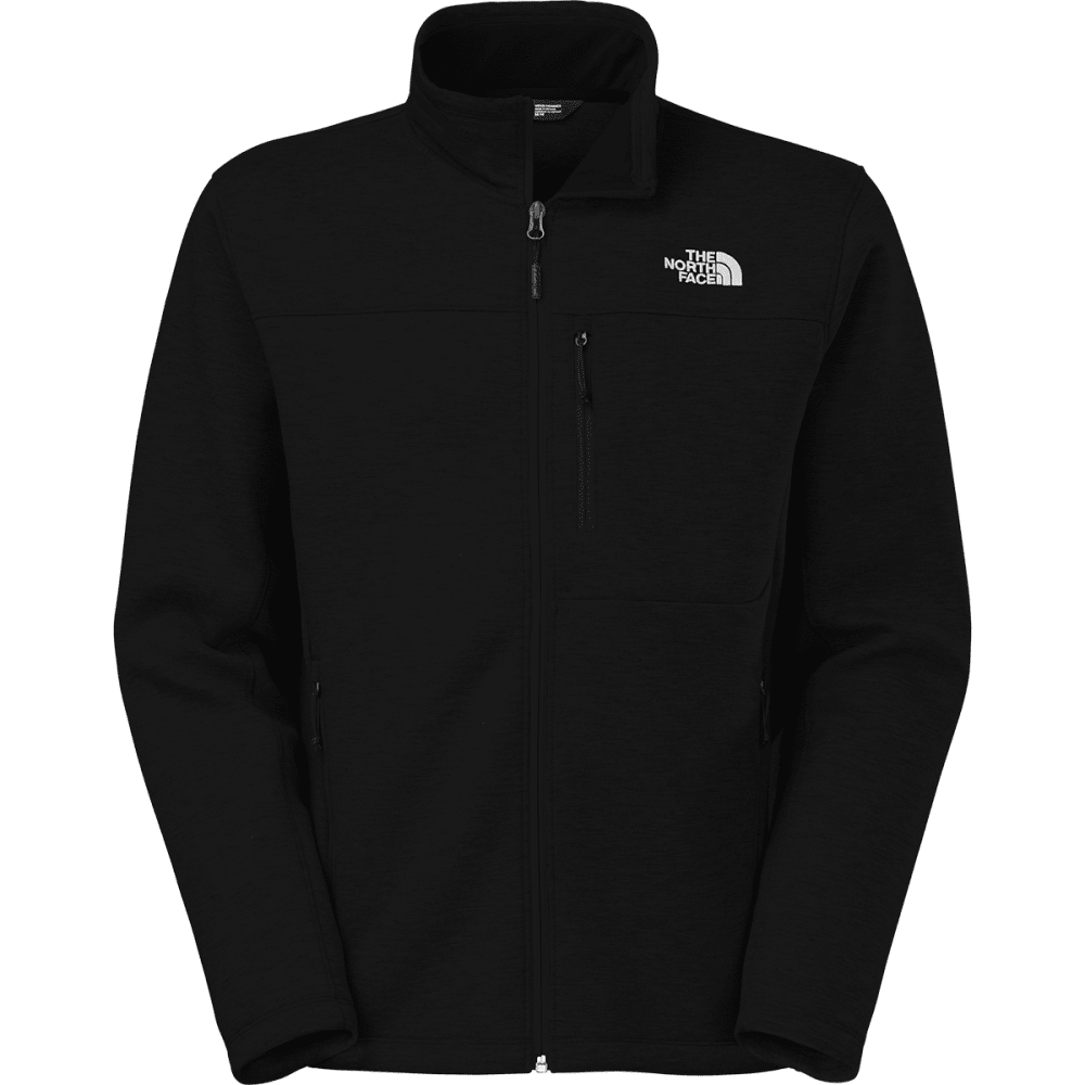 THE NORTH FACE Men's Haldee Full Zip Jacket - TNF BLACK