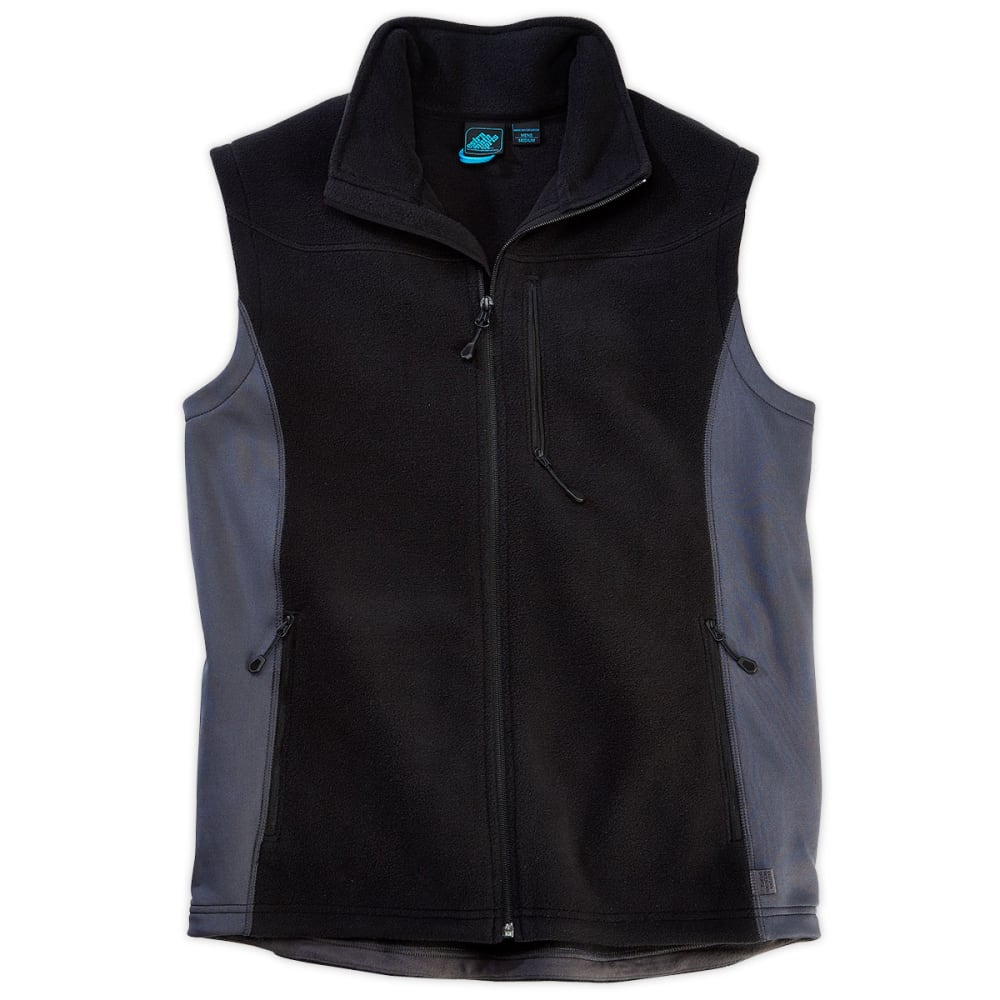 EMS® Men's Hyland Fleece Vest - JET BLACK