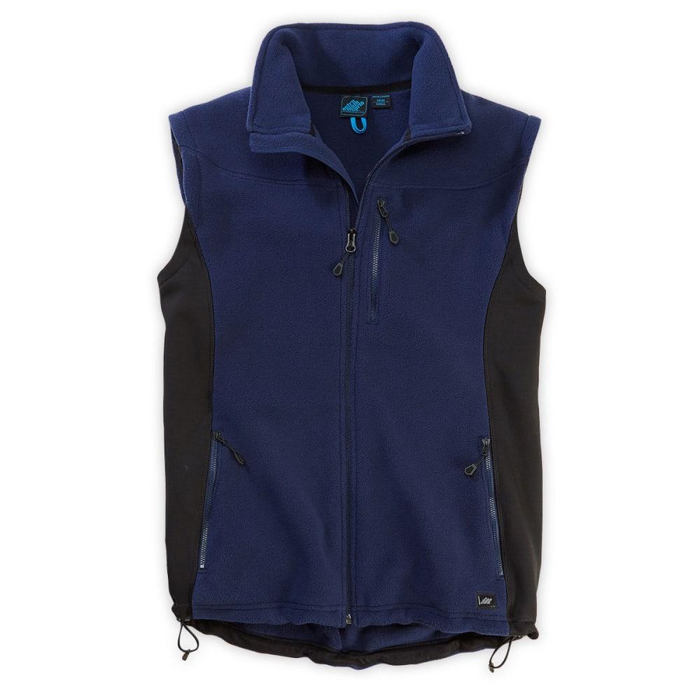 EMS® Men's Hyland Fleece Vest - ATLANTIC BLUE/EBONY