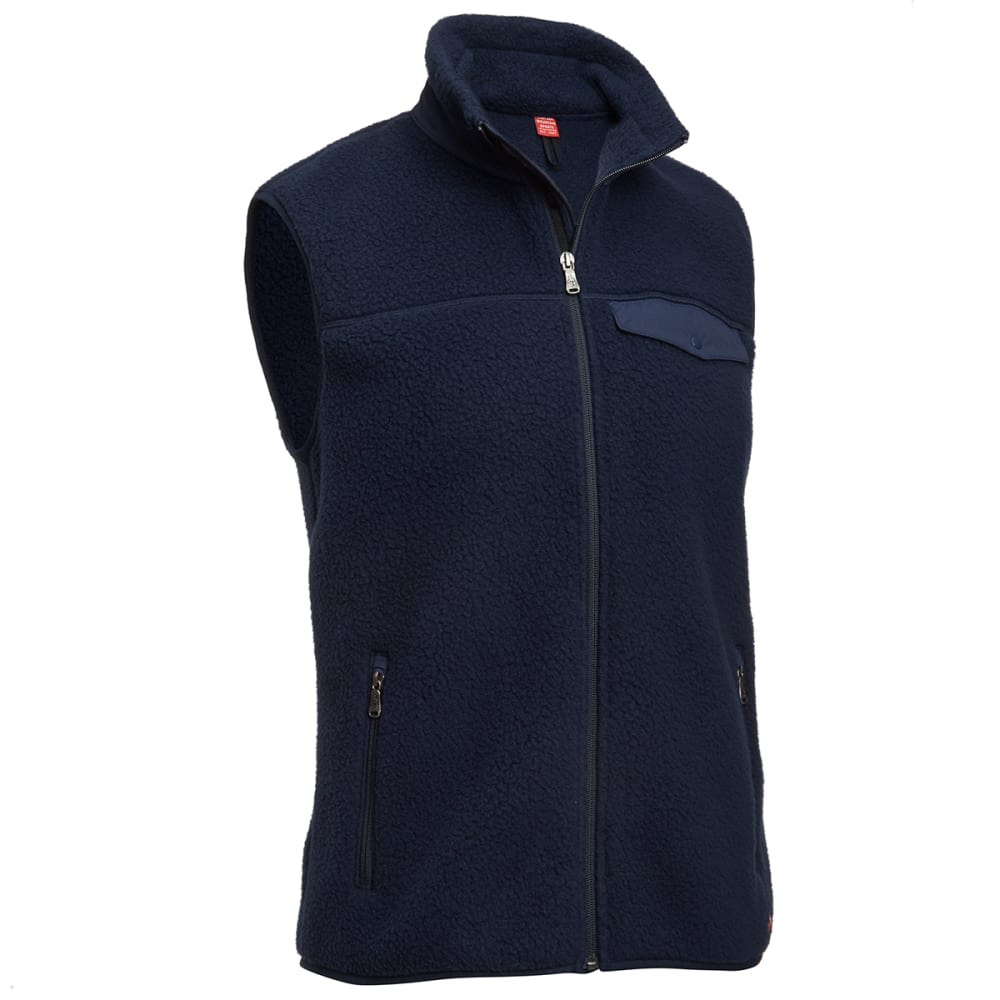 EMS® Men's Legacy 300 Fleece Vest  - NAVY