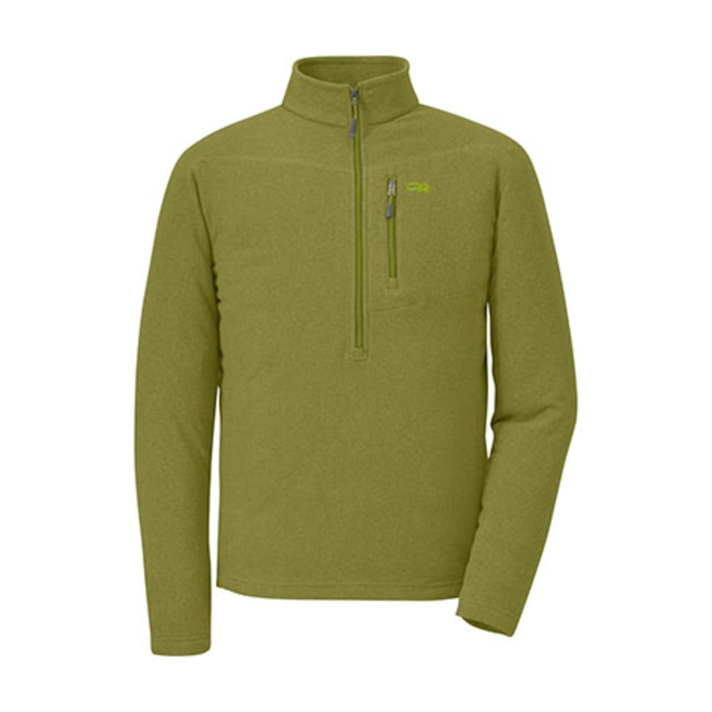 OUTDOOR RESEARCH Men's Soleil Pullover - HOPS/EVERGREEN