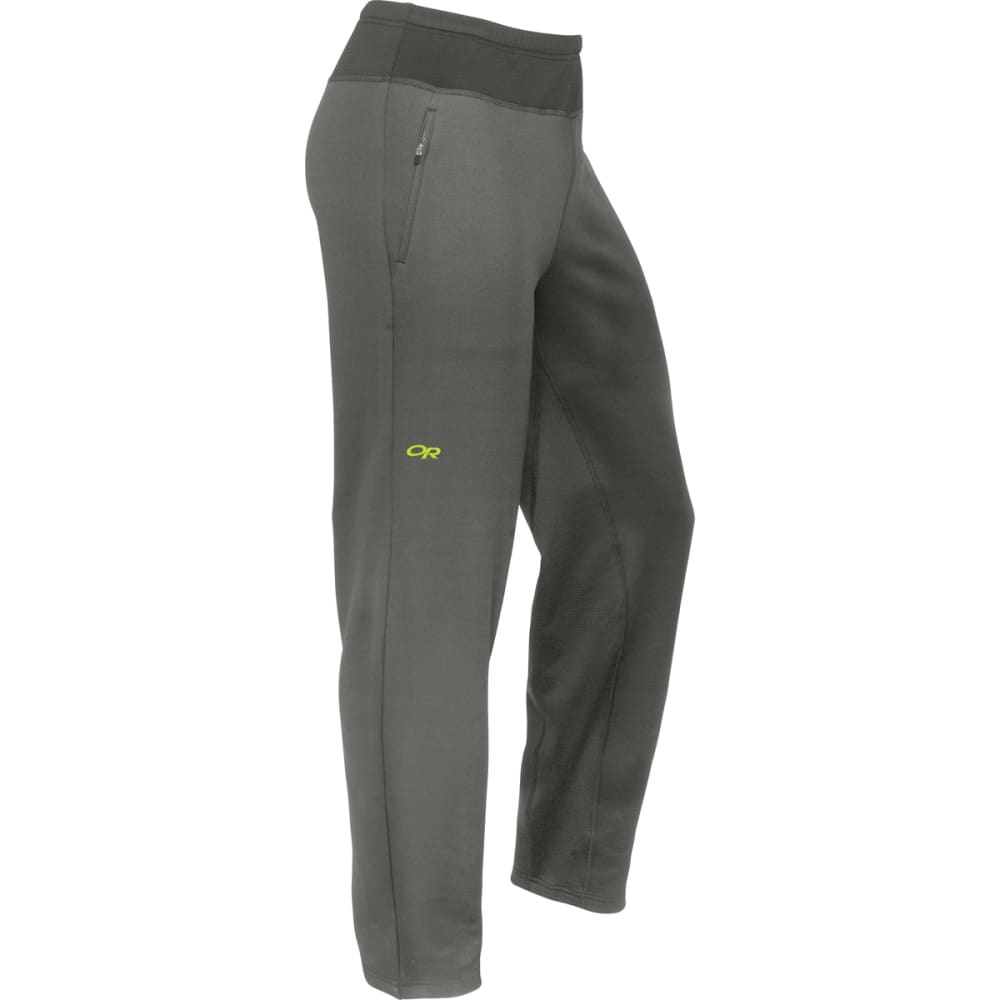 OUTDOOR RESEARCH Men's Radiant Hybrid Tights - PEWTER/LEMONGRASS