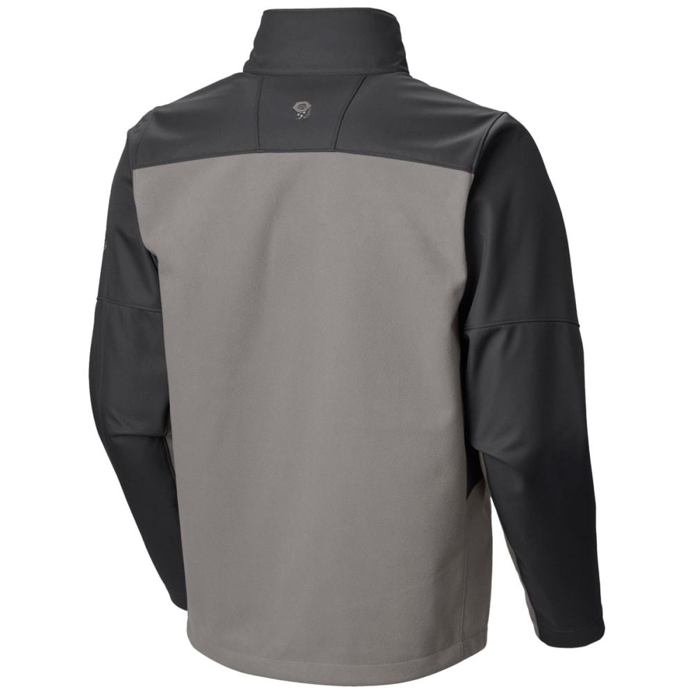 MOUNTAIN HARDWEAR Men's Peak Tech Jacket - TITANIUM/SHARK