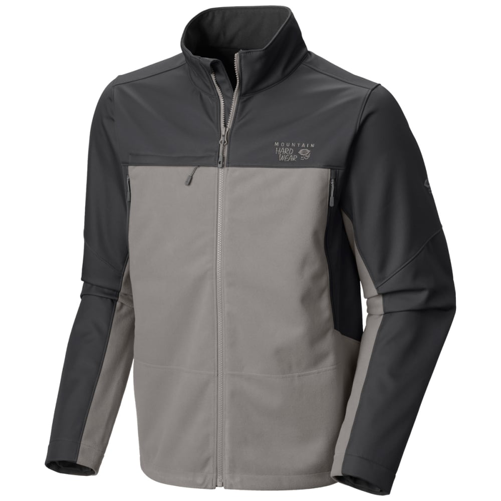 MOUNTAIN HARDWEAR Men's Mountain Tech II Jacket - TITANIUM/SHARK