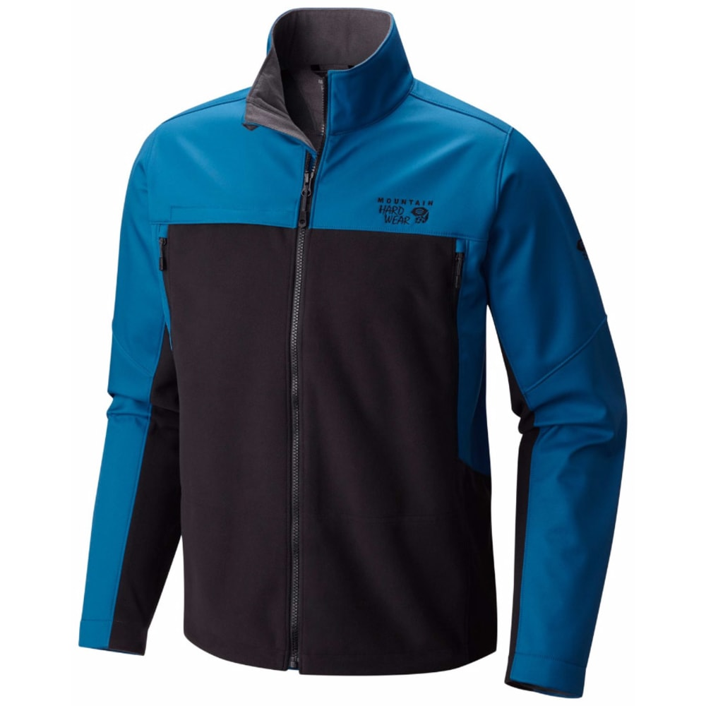 MOUNTAIN HARDWEAR Men's Mountain Tech II Jacket - 489-BLK PHOENIX BLUE