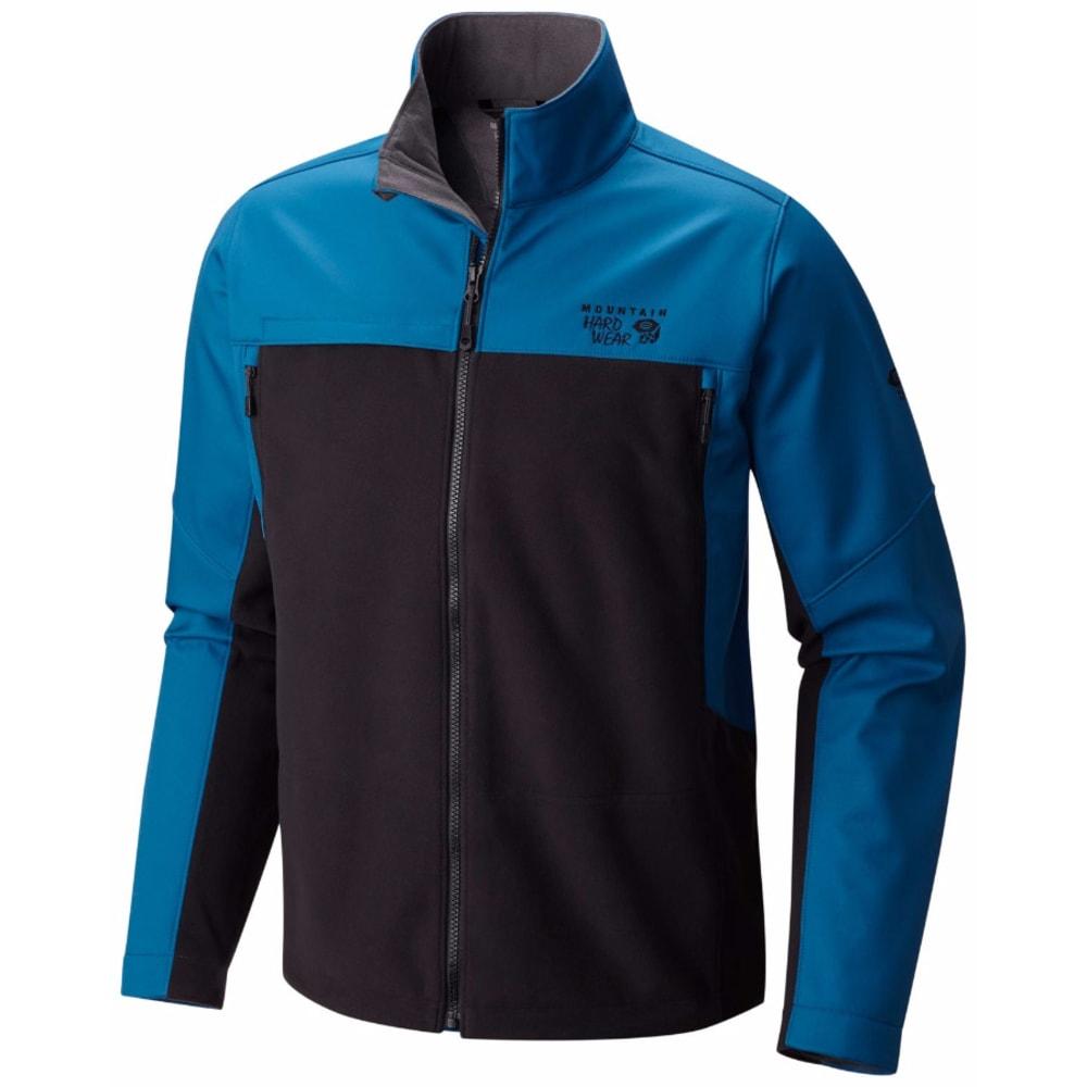 MOUNTAIN HARDWEAR Men's Mountain Tech II Jacket - 489-BLK PHOENIX BLUE