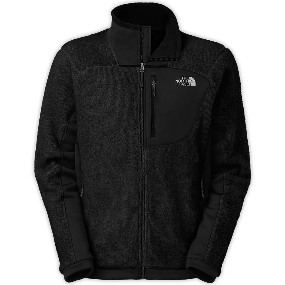 THE NORTH FACE Men's Grizzly Fleece Jacket - TNF BLACK
