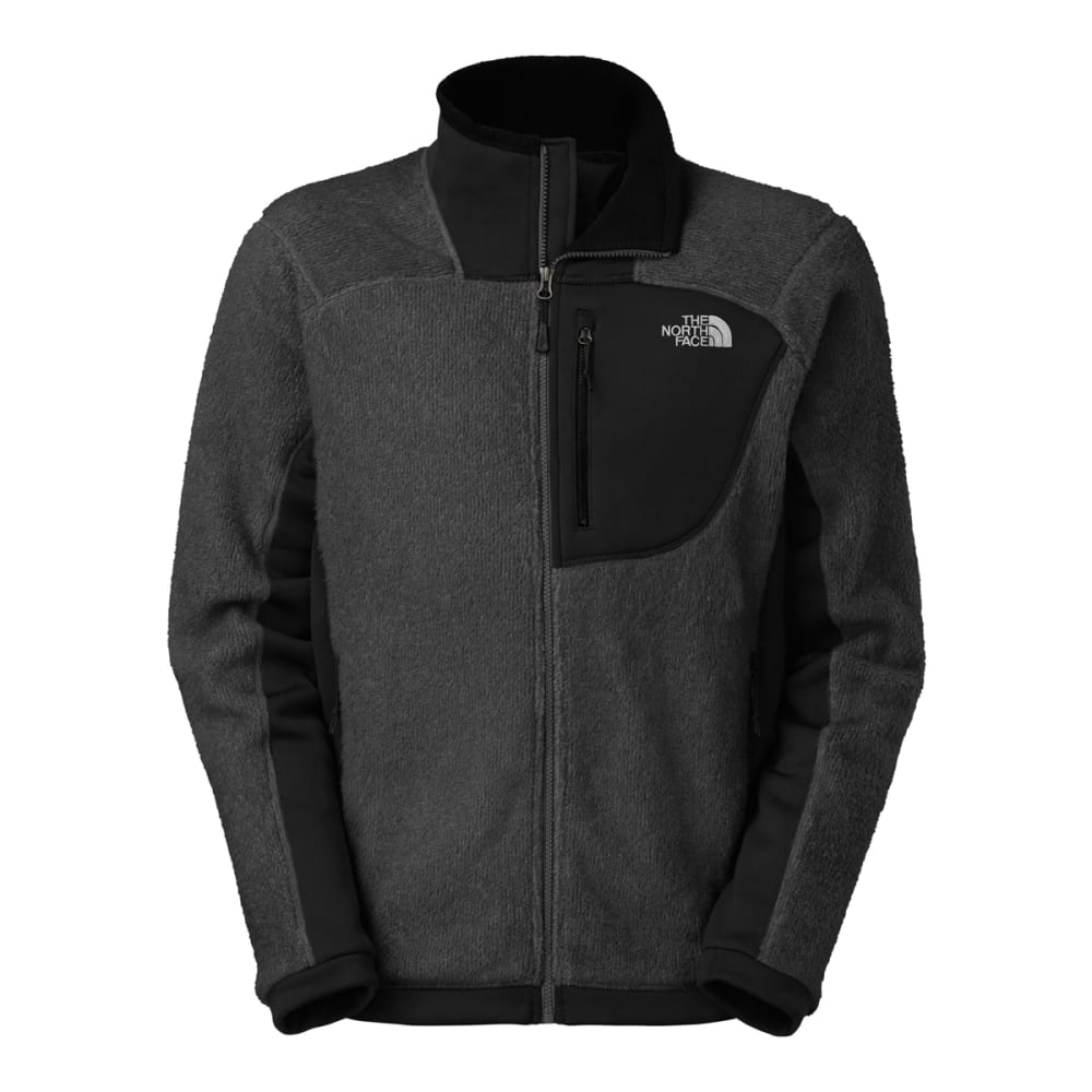 THE NORTH FACE Men's Grizzly Fleece Jacket - ASPHALT GREY