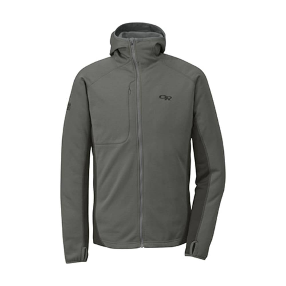 OUTDOOR RESEARCH Radiant Hybrid Hoodie - PEWTER