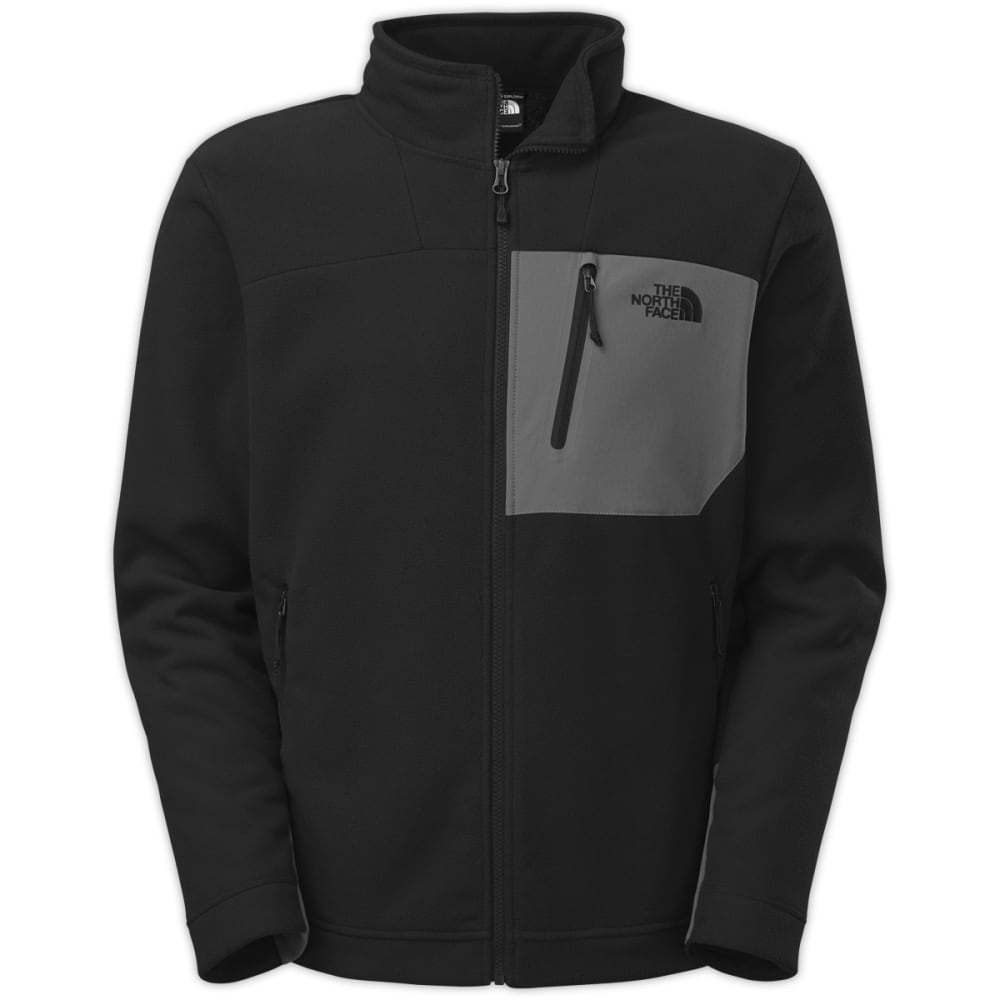 THE NORTH FACE Men's Chimborazo Full-Zip - TNF BLACK