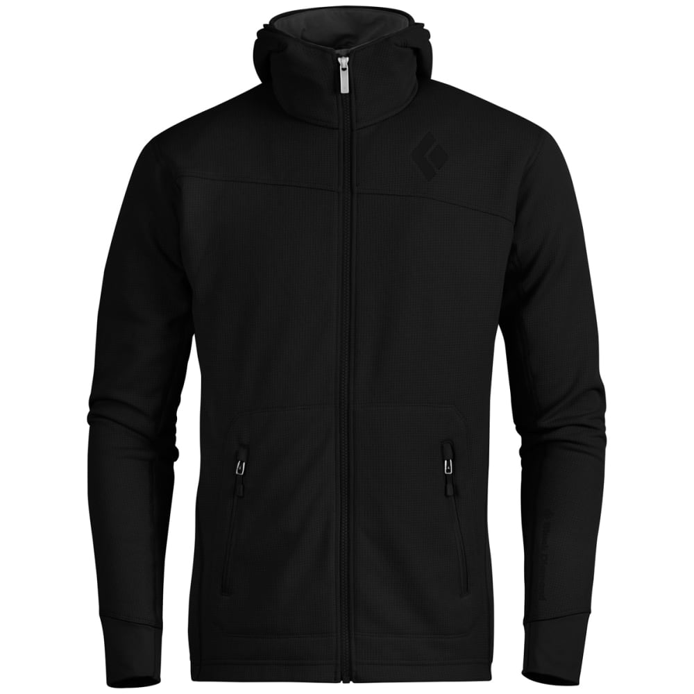 BLACK DIAMOND Men's Solution Hoodie - BLACK