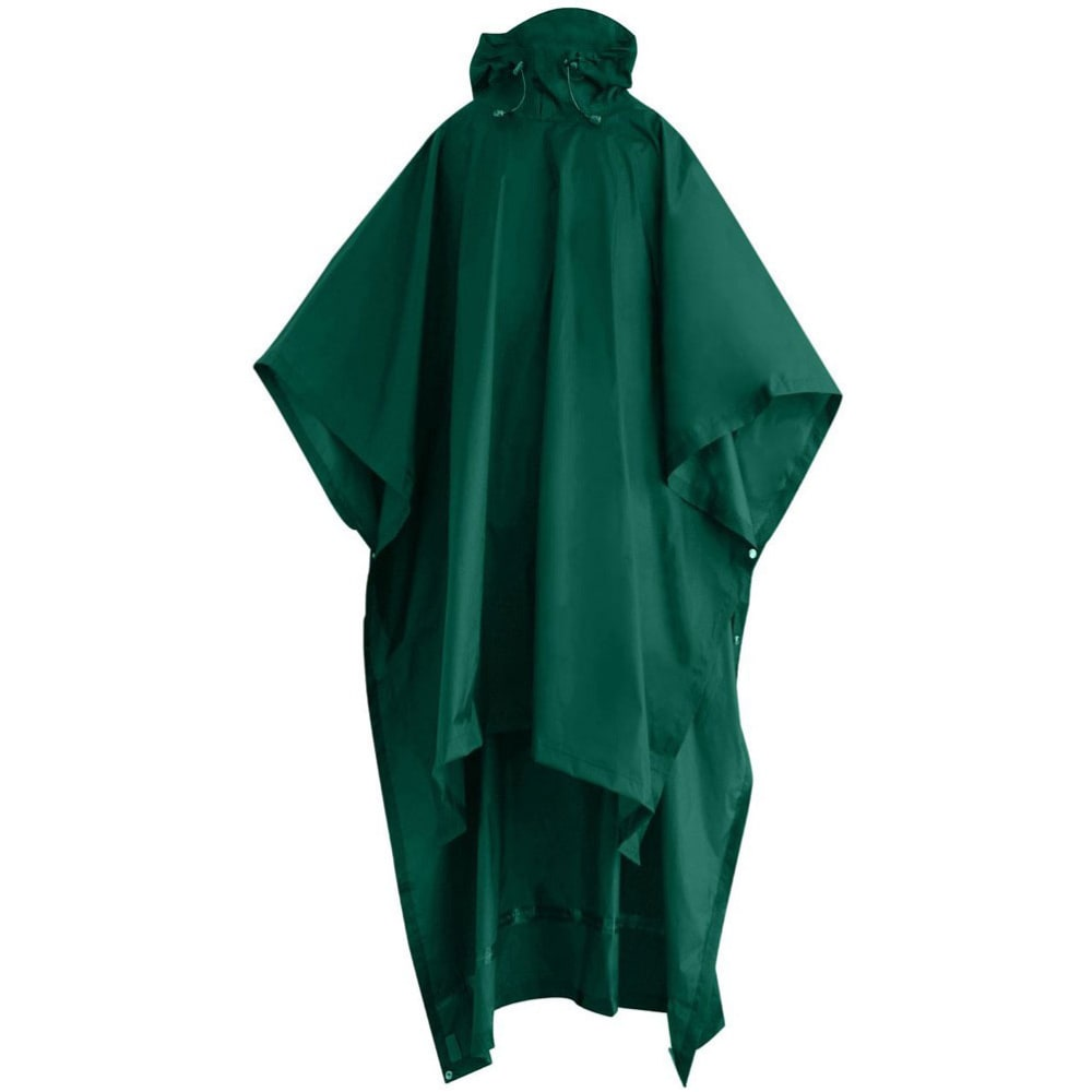 RED LEDGE Storm Backpacker Poncho, Unisex - EMERALD