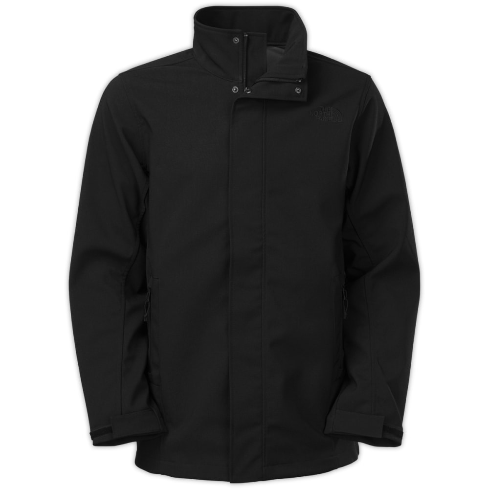 THE NORTH FACE Men's Greer Soft Shell Jacket - TNF BLACK