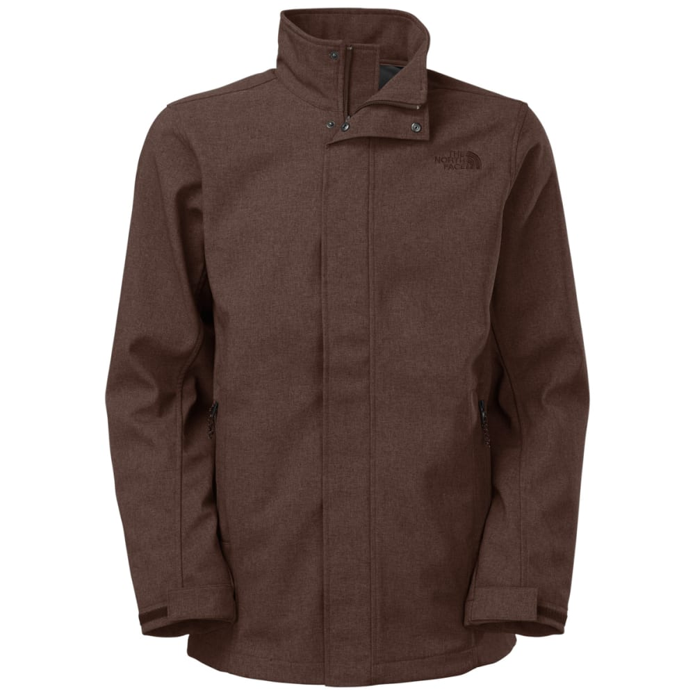 THE NORTH FACE Men's Greer Soft Shell Jacket - BRUNETTE BROWN