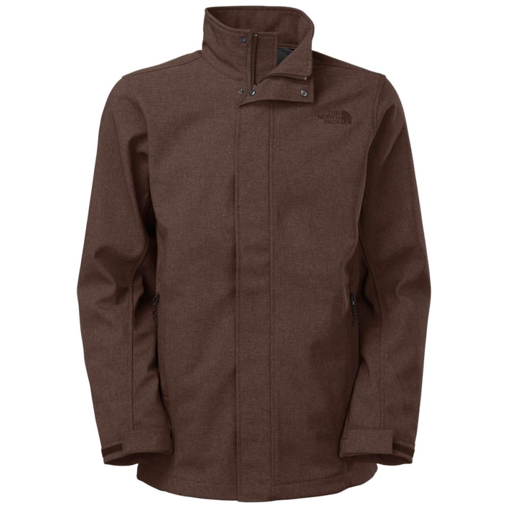 THE NORTH FACE Men's Greer Soft Shell Jacket - BRUNETTE BROWN