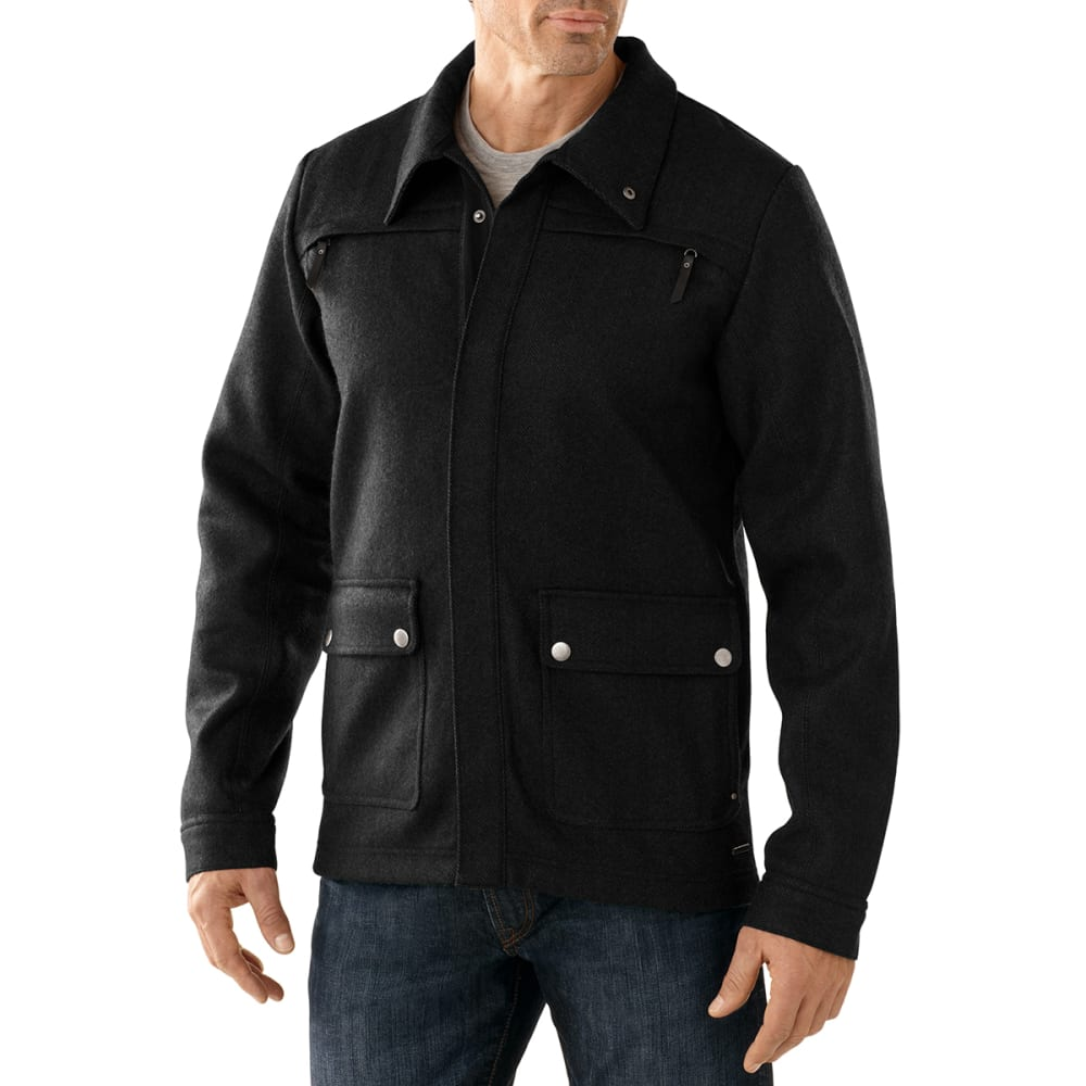 SMARTWOOL Men's Campbell Creek Coat - CHARCOAL
