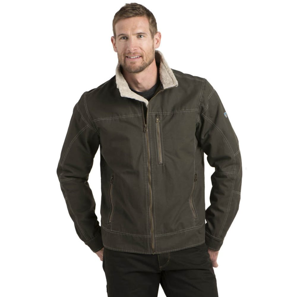 KÜHL Men's Burr Lined Jacket - GUNMETAL
