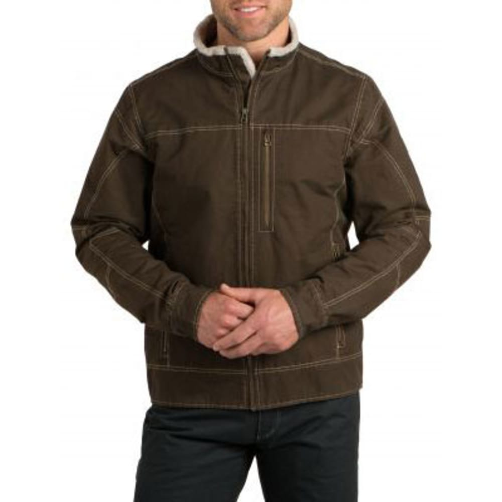 KÜHL Men's Burr Lined Jacket - BROWN