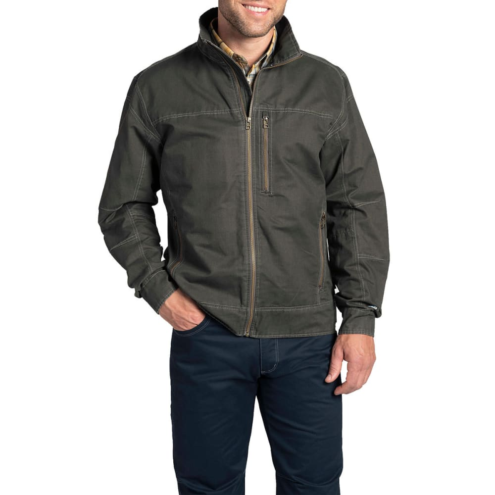 KUHL Men's Burr Jacket  - GUN-GUNMETAL