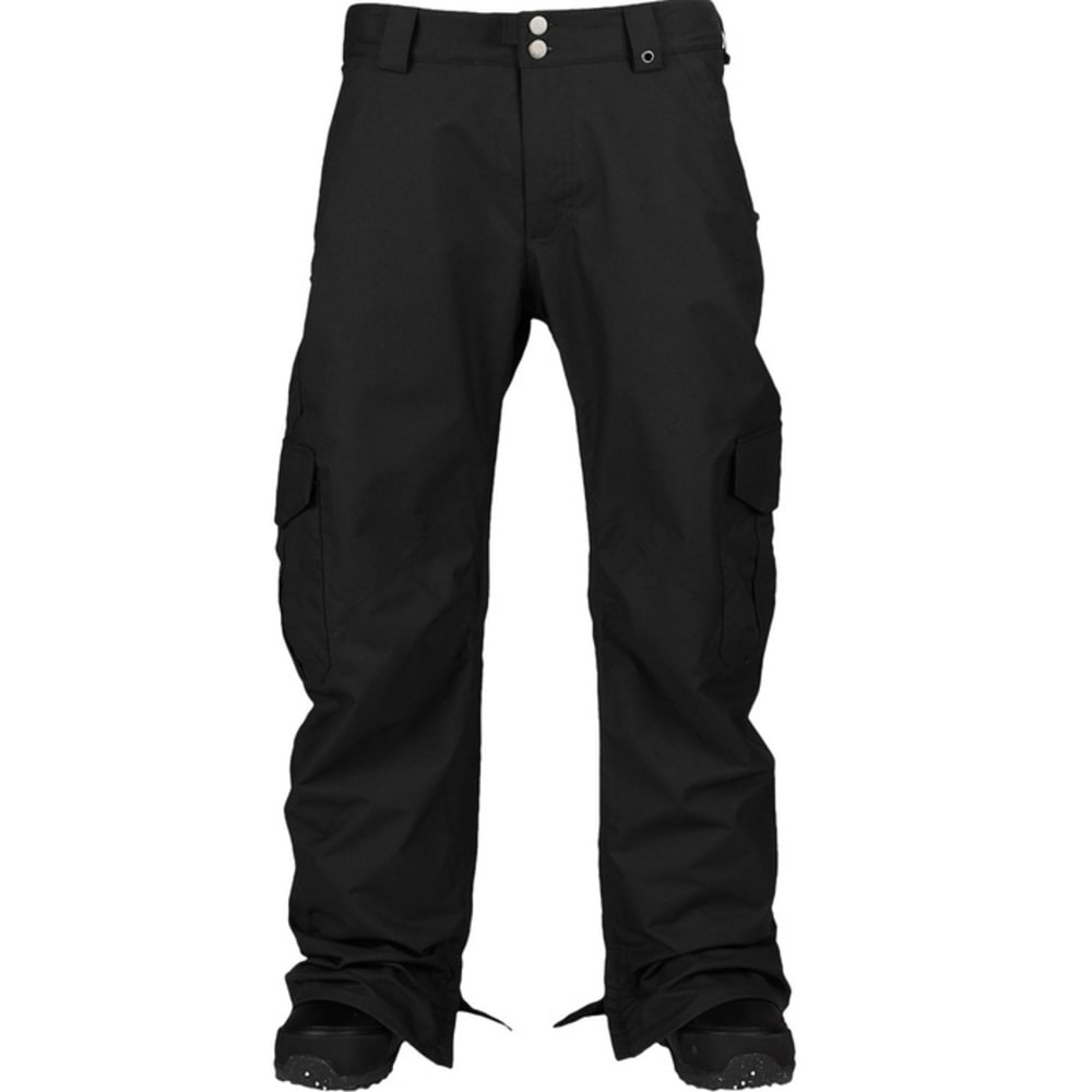 BURTON Men's Sig Fit Cargo Pants - TRUE BLACK