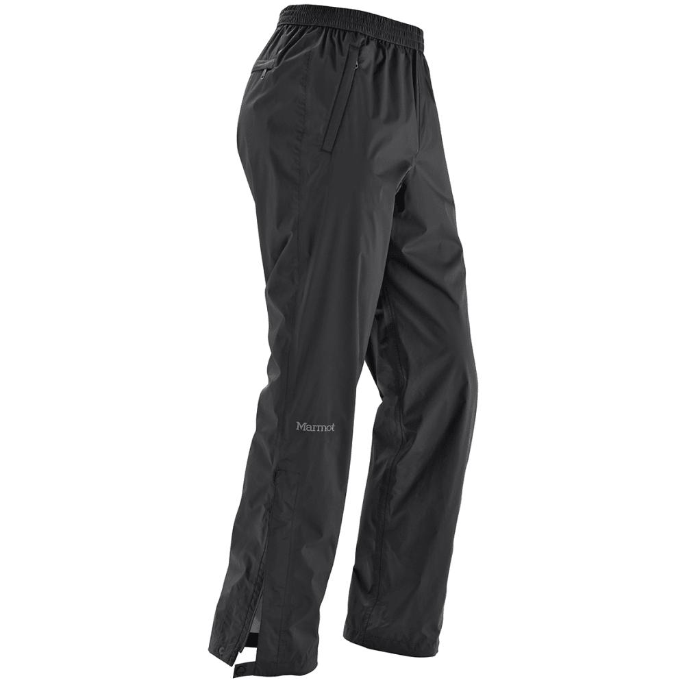 MARMOT Men's PreCip Pants, Short - 001-BLACK