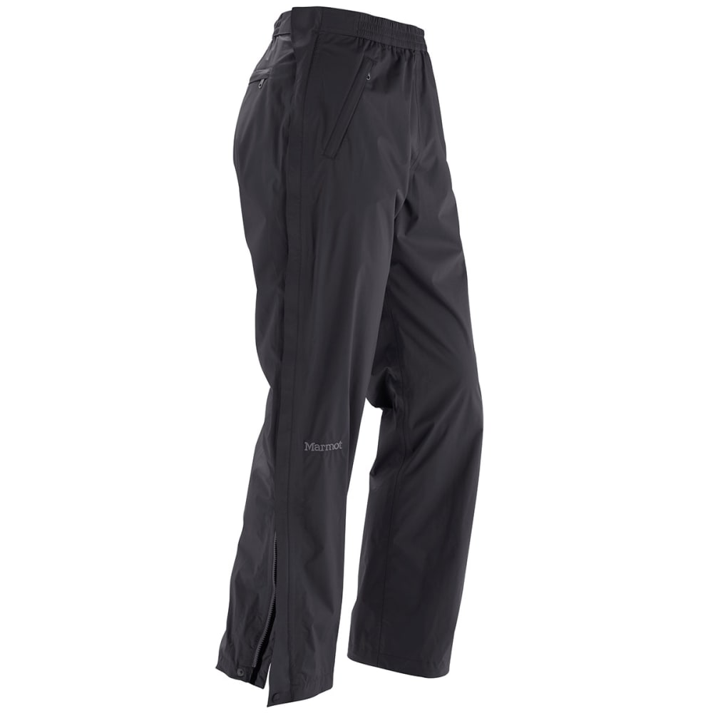 MARMOT Men's PreCip Full Zip Pants - BLACK