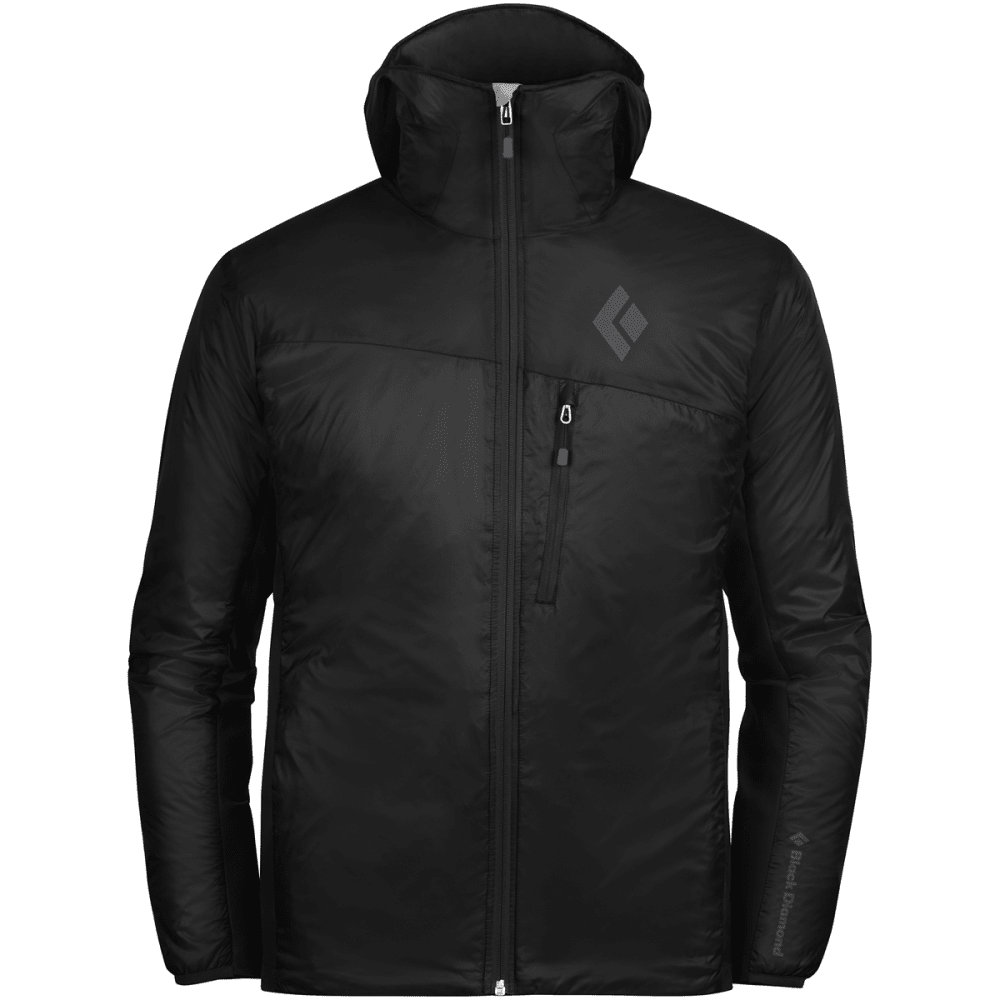 BLACK DIAMOND Men's Access LT Hybrid Hoody - BLACK