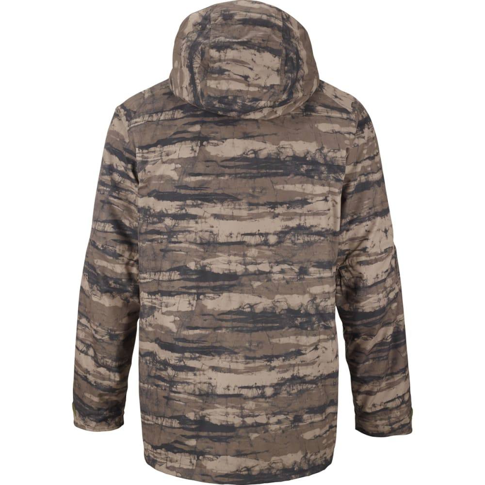 BURTON Men's Warren Snowboard Jacket - CAMO STRIPE