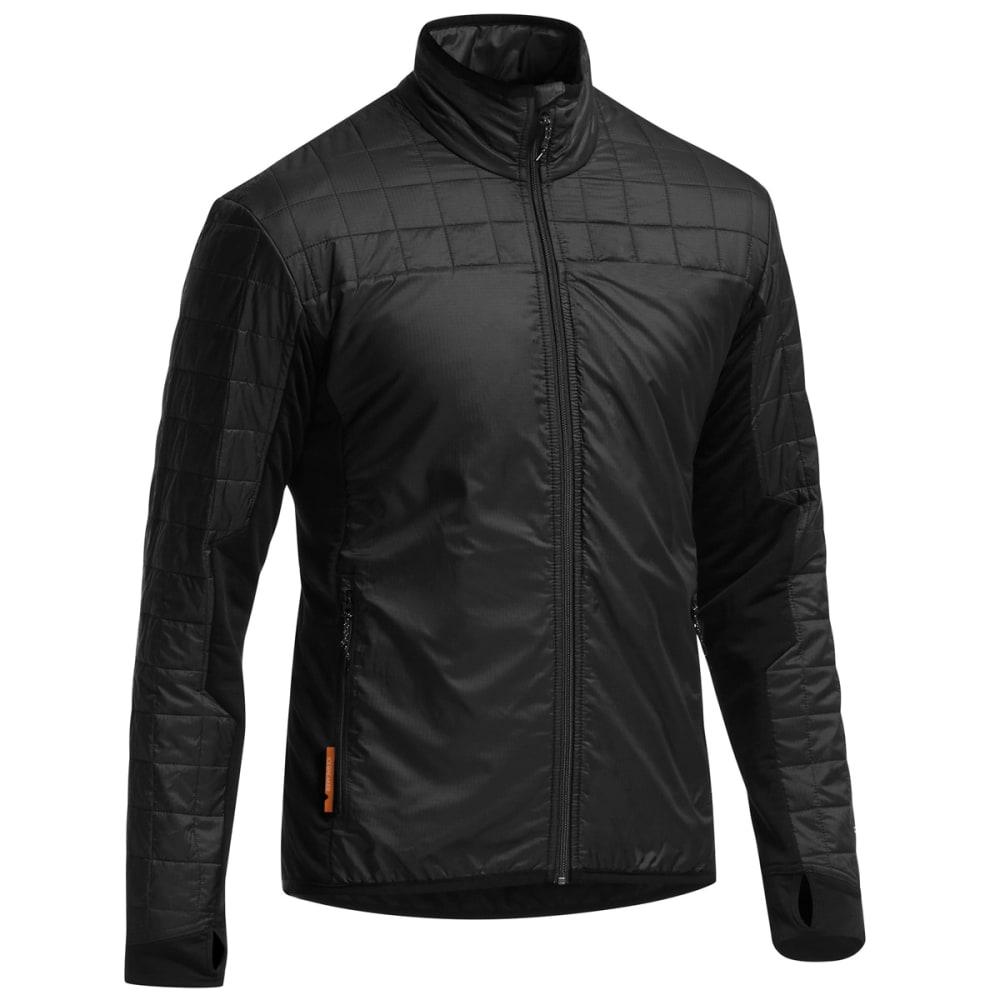 ICEBREAKER Men's MerinoLoft Helix Zip Jacket - BLACK