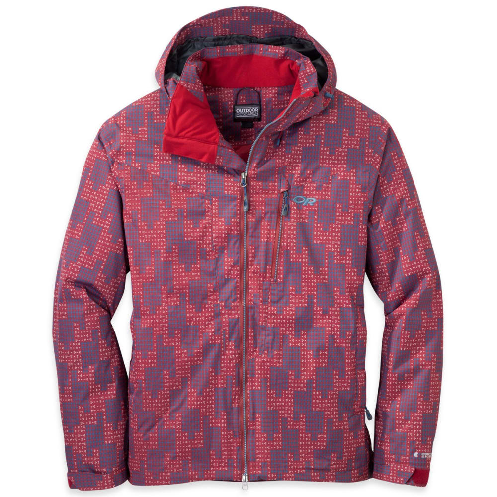 OUTDOOR RESEARCH Men's Igneo Jacket - AGATE/VNTG